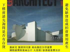 二手書博民逛書店GA罕見ARCHITECT 10: FRANK O. GEHRY