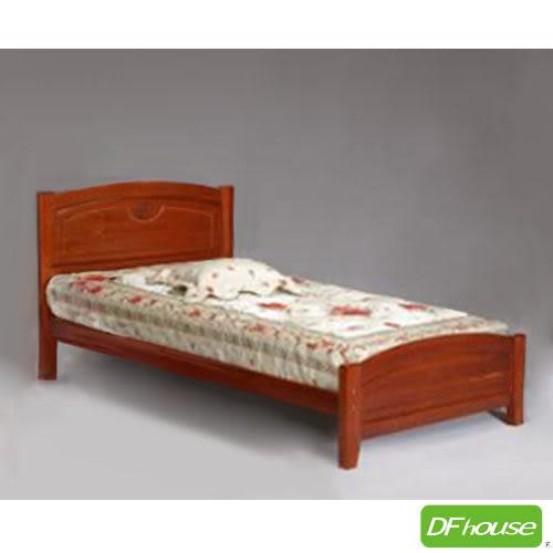 《DFhouse》百合3.5尺實木床- 單人床 雙人床 床架 床組 實木 木藝床.
