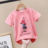 女童t恤短袖夏裝2020新款洋氣大童寬鬆半袖純棉童裝夏季兒童上衣 小城驛站