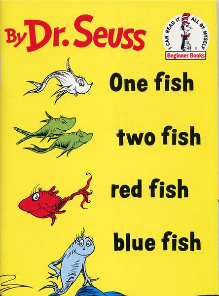 『說口好英文--第23週』- ONE FISH TWO FISH /蘇斯博士英文繪本附CD《發音.幽默》