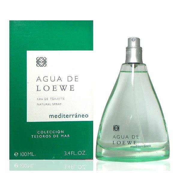 Loewe Aqua de Loewe Mediterraneo 地中海淡香水 100ml Tester 包裝