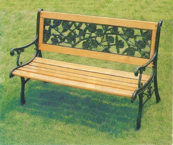 【 IS空間美學】玫瑰公園椅(鑄鐵)