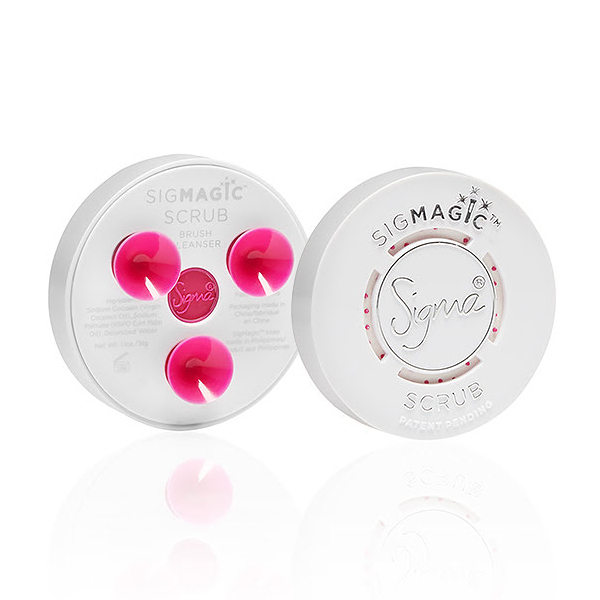 Sigma 刷具清潔肥皂盤 SigMagic Scrub 2-in-1 Solid Brush Cleanser - WBK SHOP