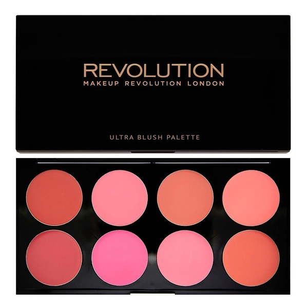 英國 Makeup Revolution Blush Palette All About Cream 腮紅膏盤