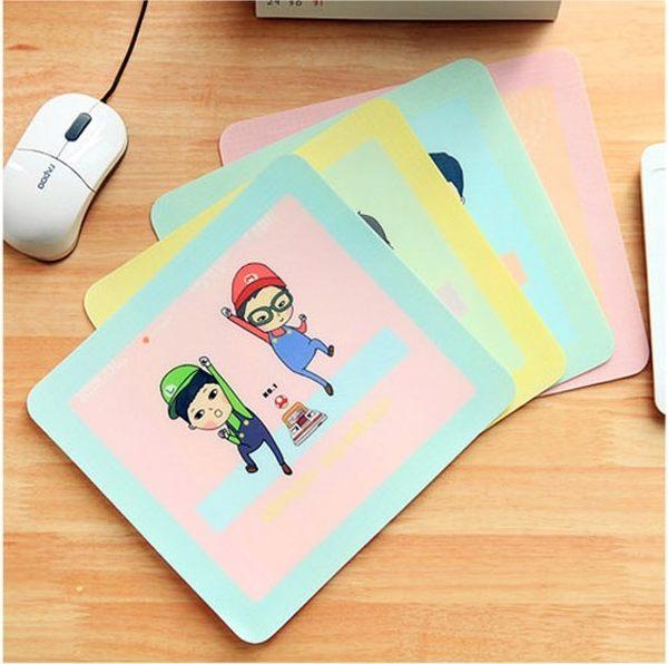 韓國可愛文具 時光滑鼠墊(單入不挑款) 鼠標墊 (購潮8)