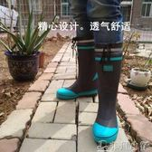 雨靴 雨鞋雨靴男時尚外單水鞋春秋橡膠防滑農田鞋釣魚鞋廚師鞋高筒水靴 非凡小鋪