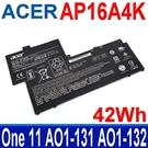 ACER AP16A4K . 電池 KT.00304.003 KT.00304.007 Aspire One 11 AO1-131 AO1-132 Swift 1 SF113-31 S5-371