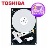 【Toshiba 東芝】 3TB/64MB/3.5吋/SATAIII