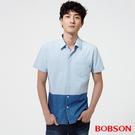 BOBSON 男款雙配色襯衫(25043-58)
