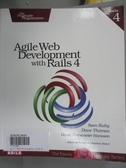 【書寶二手書T3/電腦_WEP】Agile Web Development with Rails 4_Ruby, Sam/ Thomas, Dave/ Hansson, David Heinemeier