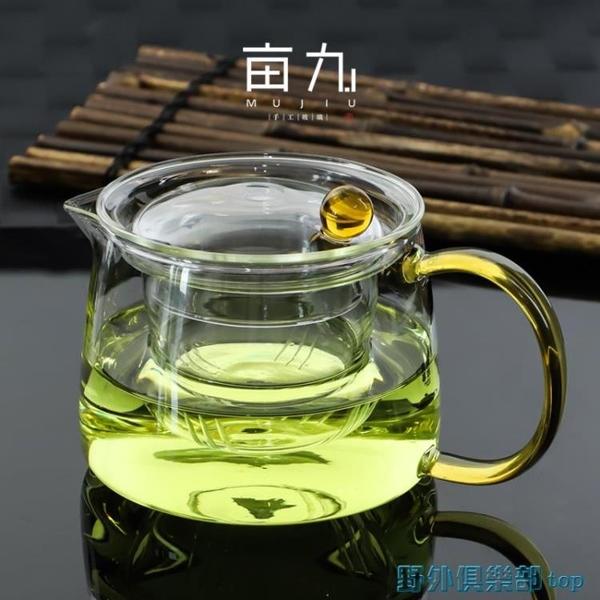 茶壺 玻璃茶壺耐高溫加厚茶具家用泡茶壺耐熱過濾水壺花茶壺單壺煮茶壺 快速出貨