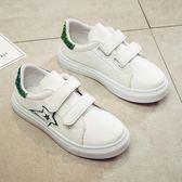 兒童小白鞋女新款秋季韓版男童鞋子中大童板鞋女童運動鞋清倉