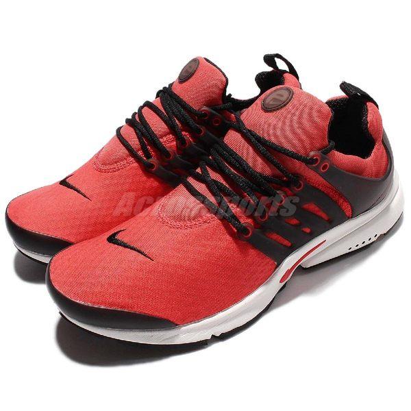 【六折特賣】Nike 魚骨鞋 Air Presto Essential 紅 黑 白底 低筒 休閒慢跑鞋 男鞋 【PUMP306】 848187-600