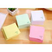文具 韓版牛奶盒抽取便條紙 約8X7cm (約220張) 【PMG508】SORT