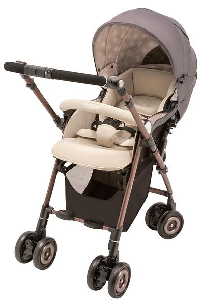 Graco Citi Turn 舒適型雙向嬰幼兒手推車/嬰兒推車-水晶灰 BE