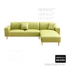 INPHIC-Olivia 大地綠色 蘿絲特殊透氣皮質沙發〔三人單邊扶手 貴妃椅〕(三色可選)_JS2K