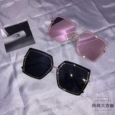 墨鏡女韓版潮太陽鏡眼鏡防紫外線原宿【時尚大衣櫥】