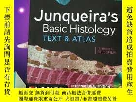 二手書博民逛書店Junqueira`s罕見Basic Histology TEX
