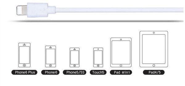 蘋果通用ipad iPhone5 5s 6 6plus數據線 充電線 傳輸線【Mr.1688先生】