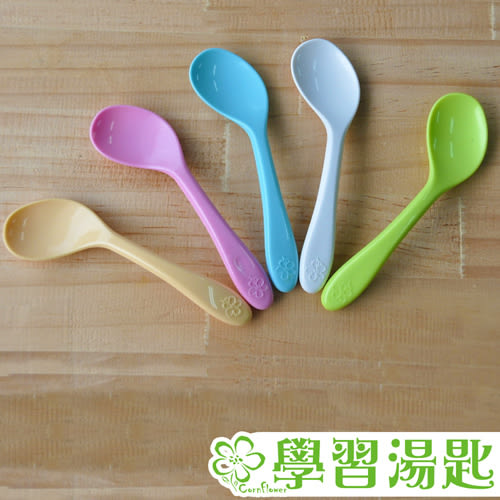 【Cornflower玉米花】海洋派對玉米餐具-學習湯匙-5入