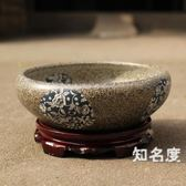 魚缸 陶瓷金魚缸烏龜缸荷盆睡蓮碗蓮花盆大號瓷盆水仙水培瓷缸T