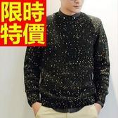 長袖毛衣-美麗諾羊毛日系秋冬套頭男針織衫63t45【巴黎精品】