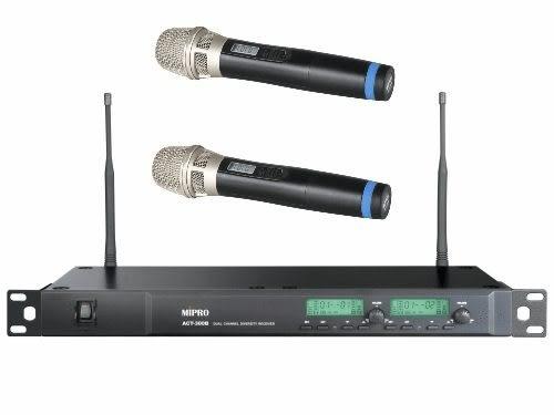 MIPRO ACT-300B 1U 2CH 模組化自動選訊無線麥克風系統(新系統)