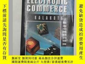 二手書博民逛書店Frontiers罕見of Electronic Commerc