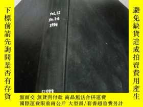 二手書博民逛書店biology罕見and technology vol.12 n