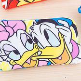 iaeShop 迪士尼DISNEY 唐老鴨黛西 雙層收納包 化妝包 旅行包 萬用包 外出包 手提包 筆袋 Donald Duck Daisy
