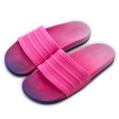Adidas 愛迪達  ADILETTE CF+ FADE W  拖鞋 CG3437 女 舒適 運動 休閒 新款 流行 經典