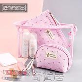 化妝包化妝包小號便攜韓國簡約透明收納袋迷你帆布清新包少女心隨身可愛