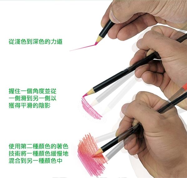 美國Crayola繪兒樂 文藝經典系列 粉彩色鉛筆精裝組50色 麗翔親子館