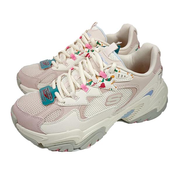 (C9) SKECHERS 女鞋 STAMINA V2 老爹鞋 健走休閒 運動鞋 149512NMLT 粉白 [陽光樂活]