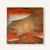 大魚海棠電影海報裝飾畫 現代客廳玄關掛畫書房壁畫油畫WY 【快速出貨】