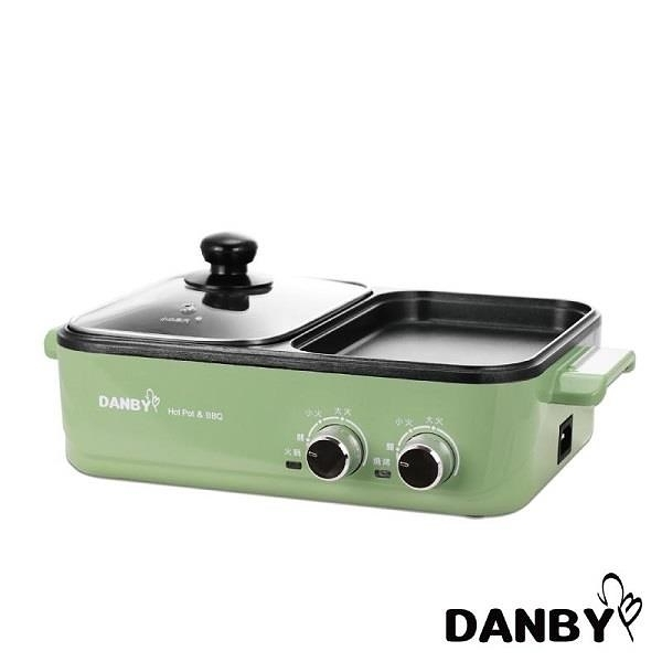 【南紡購物中心】DANBY 丹比 DB-1BHP 雙溫控火烤兩用輕食鍋