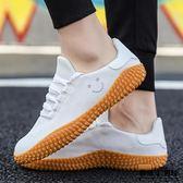 板鞋 透氣 網布鞋 韓版 小白鞋 大碼 帆布鞋 耐磨  男鞋潮