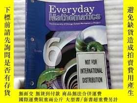 二手書博民逛書店Everyday罕見Mathematics Differentiation Handbook Grade 6 英文