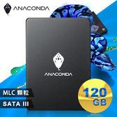 【台中平價鋪】全新 ANACOMDA巨蟒 侵略入門款 A1 120GB SATA III 2.5吋 固態硬碟 SSD