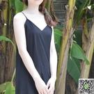 襯裙 春夏新款純棉女中長款大碼內搭背心吊帶打底裙內襯裙洋裝 交換禮物