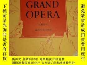 二手書博民逛書店英文曲譜-----《GRAND罕見OPERA:大歌劇》!(1946年,紐約)Y13428 英文 英文 出版1