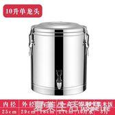304不銹鋼保溫桶商用超長保溫飯桶大容量茶水桶豆漿桶奶茶桶冰桶『夏茉生活YTL』