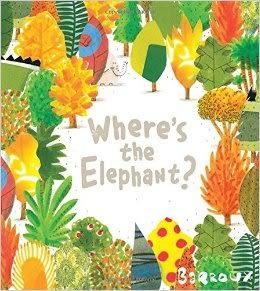 【2016 凱迪克得獎繪本】WHERE'S THE ELEPHANT?《主題: 環境保護.想像》