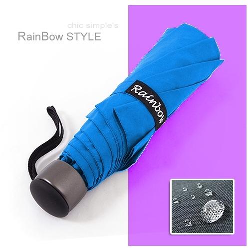 【RainSky】RB精工12角切割 潑水性晴雨傘/ 傘 抗UV傘 折疊傘 非自動傘 洋傘 陽傘 大傘 防風 潑水+5