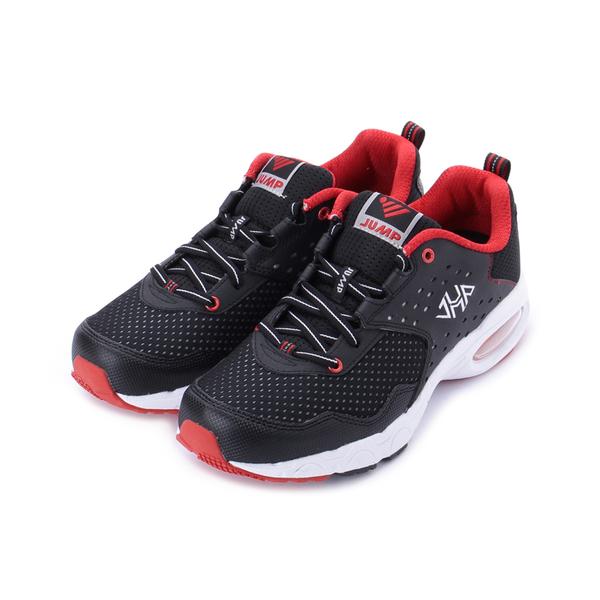 JUMP 氣墊男鞋 黑紅 JM9016 男鞋 鞋全家福