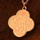 玫瑰金純銀項鍊-十二生肖小羊生日情人節禮物女飾品71x159【巴黎精品】