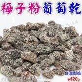 梅子粉葡萄乾 台灣製120g-艾發現