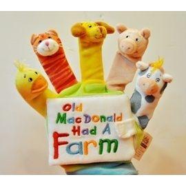 『繪本123‧吳敏蘭老師書單』--OLD MACDONALD HAD A FARM /幼兒指偶書