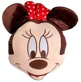 【卡漫城】 米妮 小抱枕 頭形 ㊣版 午休枕 午安枕 迪士尼 Minnie 米奇女朋友 米老鼠 迪士尼 擺飾