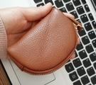 手工皮包 手工零錢包頭層牛皮短款小錢包硬幣包小卡包男女汽車女鑰匙包 歐歐